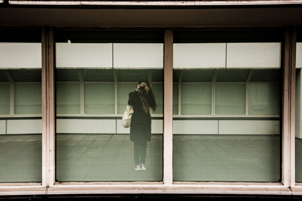 Photo of a reflection at Bauhaus Archive in Berlin | LOST NOT FOUND | Berlin | Germany | Deutschland