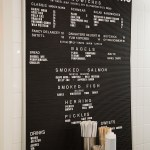 Russ and Daughters Menu Board | LOST NOT FOUND | NYC Restaurant Guide