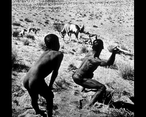 062 - Bushmen hunters, R. Farbman, Time, Inc