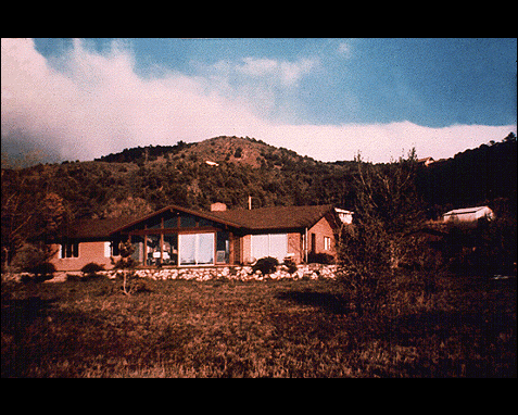 088 - Modern house (Cloudcroft, New Mexico), Frank Drake