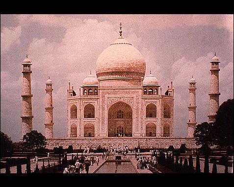 090 - Taj Mahal, David Carroll