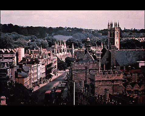 091 - English city (Oxford), CS Lewis, Images of His World, William B Eerdmans Publishing Co