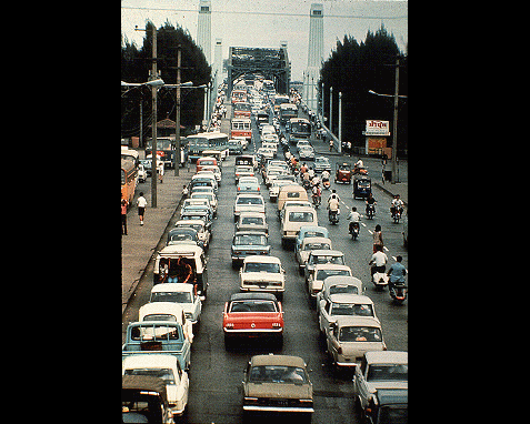 102 - Rush hour traffic, Thailand, UN