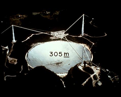 110 - Radio telescope (Arecibo), NAIC