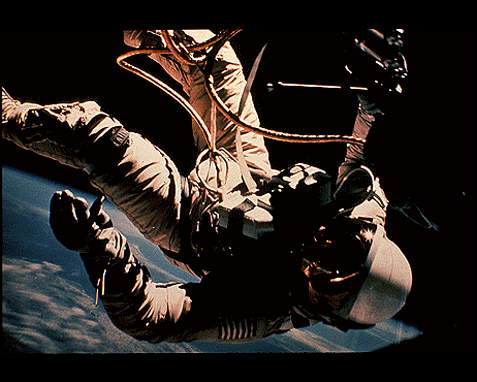 112 - Astronaut in space, NASA