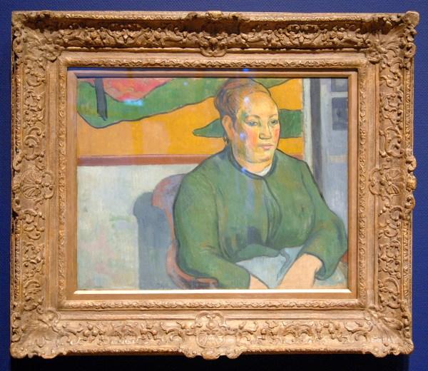 Paul Gauguin - Madame Roulin - Olieverf op doek, 1888