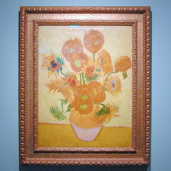 Vincent van Gogh - Zonnebloemen - Olieverf op doek, 1889