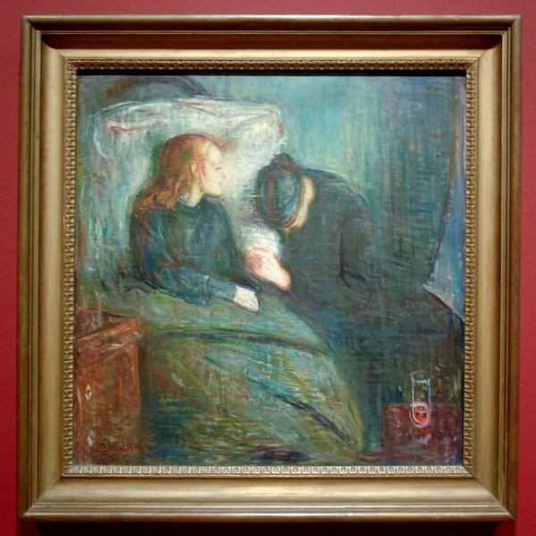 Edvard Munch - Het zieke kind - Olieverf op doek, 1896