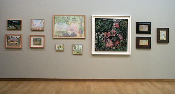 Elena Guro, Mikhail Matyushin en Kazimir Malevich - Diverse werken rond 1910