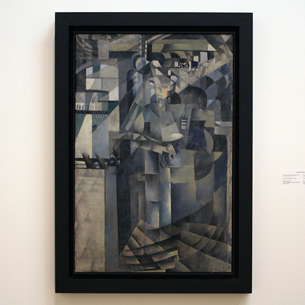 Kazimir Malevich - In het Grand Hotel - Olieverf op doek 1913