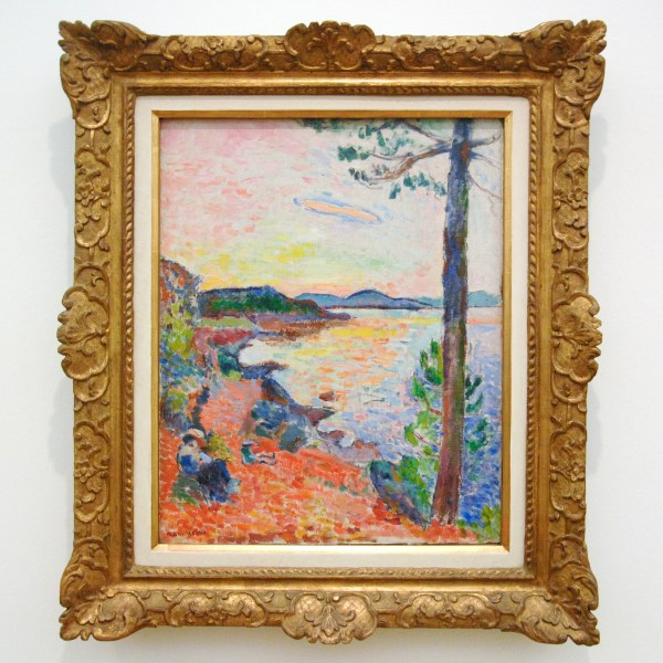 Henri Matisse - De lichte maaltijd (de baai van Saint-Tropez) - Olieverf op doek, 1914