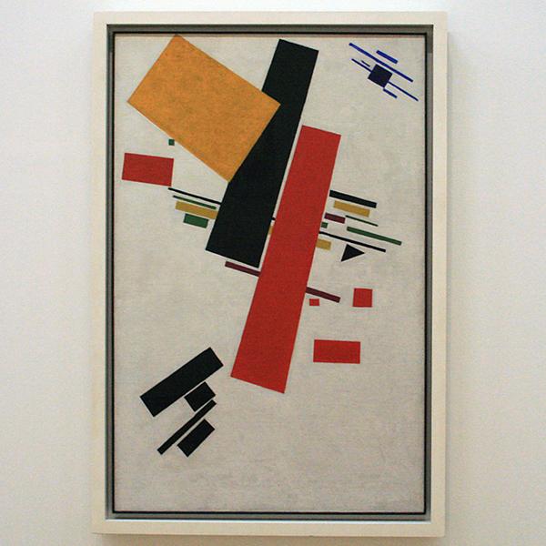 Kazimir Malevich - Suprematisch nr 38 - Olieverf op doek 1916