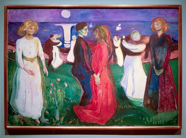 Edvard Munch - De Levensdans - Olieverf op doek, 1925