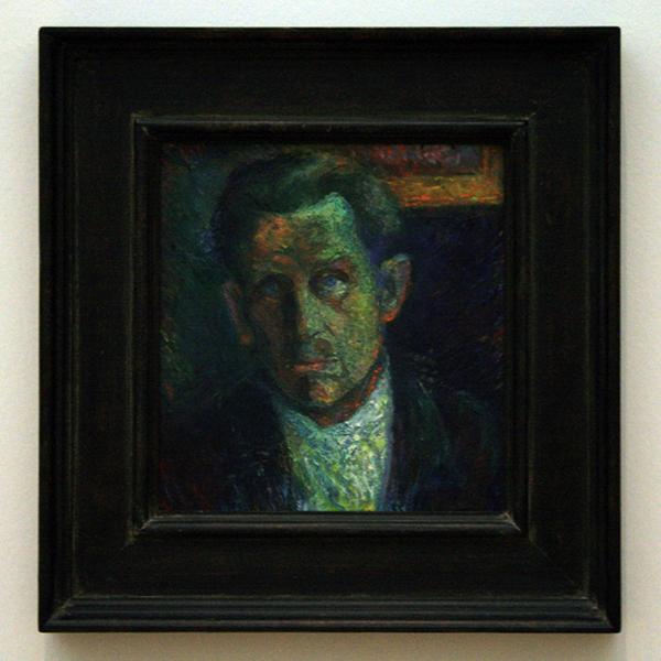 Kazimir Malevich - Potret van Ivan Klyun - Olieverf op doek 1933