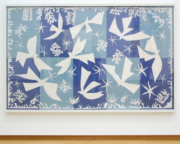 Henri Matisse - Polynesie, de Zee - Gouache op papier op papier op doek, 1946
