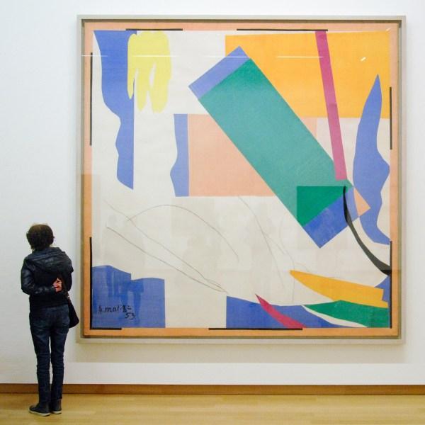 Henri Matisse - Herinnering aan Oceanie - Gouache op papier en houtskool op papier op doek, 1952-1953
