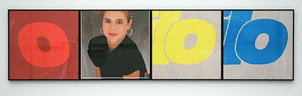 1991 - Willem Oorebeek - Estilo, Indola - Kleurenfoto en offset achter glas in lijst