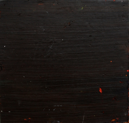 Chocolate fingers - Olieverf 50x52cm