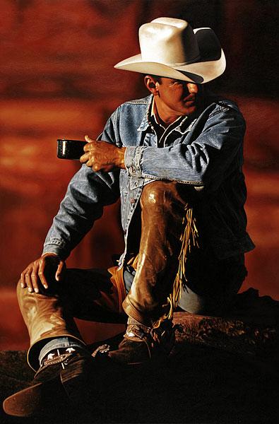 Cowboy #13 - 120x180cm Olieverf