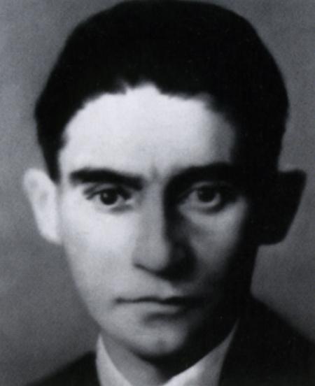 Franz Kafka, 1883-1924, 1971/72, 70 x 55 cm, Oil on canvas