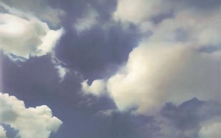 Wolke/Cloud , 1976, 200 cm x 300 cm, Oil on canvas