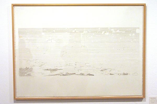 Hans Broek - Sketch for urban composition
