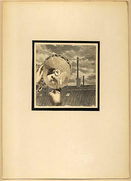 Joseph Cornell - Untitled - 25x20cm Collage