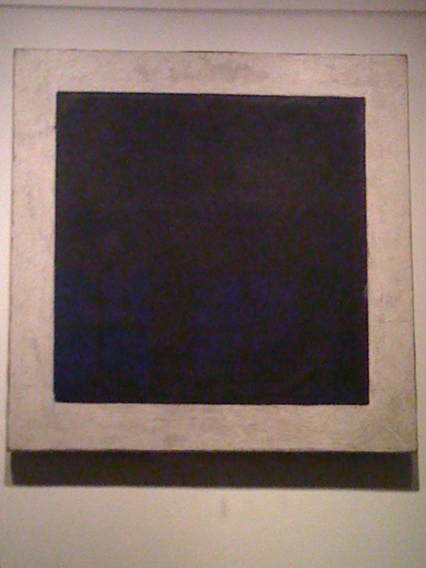 Malevich - Het Suprematisch Zwarte Vlak