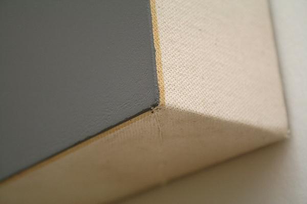 Morgan Fischer - Deur en raam schilderijen - Acrylverf op katoen op hout (detail)