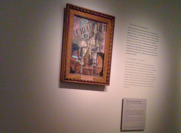 Picasso (want er hing geen Braque)