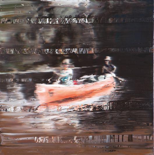Transition II - 150x150cm Olieverf op canvas