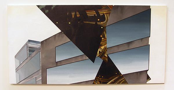 Bonnie Severien - Citylights - 100x200cm Acryl op paneel