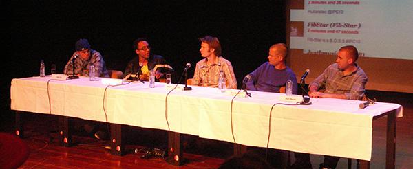 Matt Mason en panel