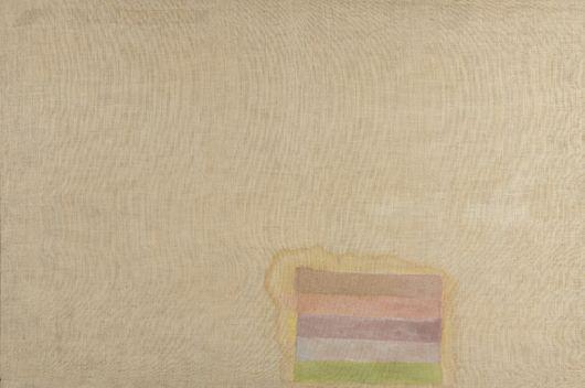 Untiteld - 122x183cm Olieverf en vernis op jute