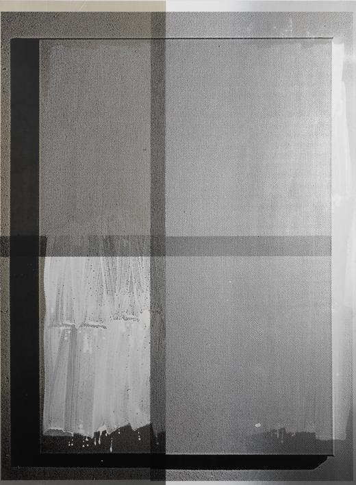 Untitled (2710A) - 197x144cm Acrylverf op aluminium