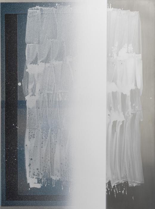 Untitled (3110A) - 197x145cm Acrylverf op aluminium