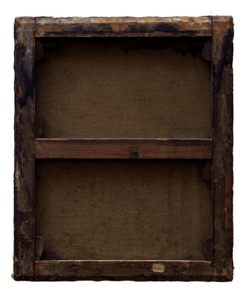 Verso - Anoniem - Paysage - 72x62cm
