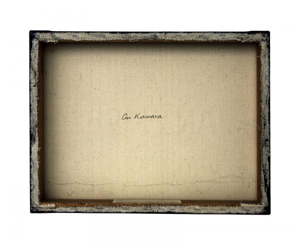 Verso - On Kawara - Toady, Serie nr7 - 132x112cm