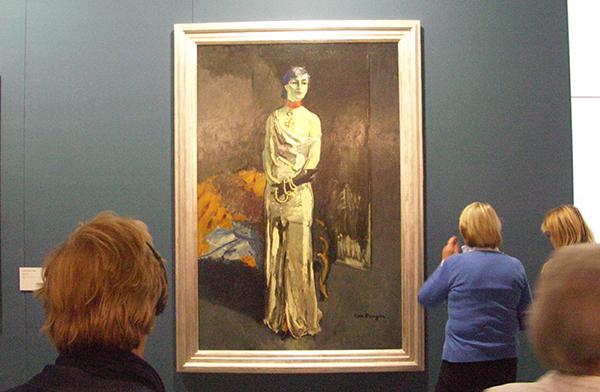 Anna de Noailes - Olieverf op canvas