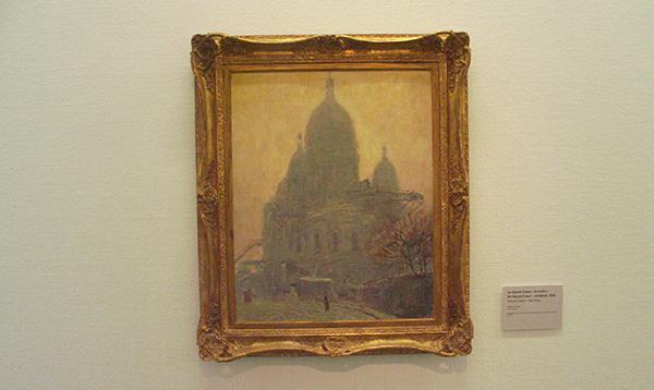 De Sacre-Coeur In De Ochtend - Olieverf op canvas