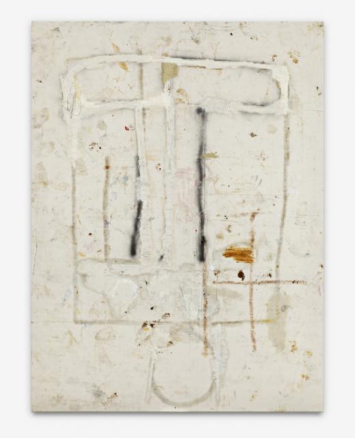 Ereased Freek - 224x168cm Olieverf, spuitbus en mixed-media op canvas