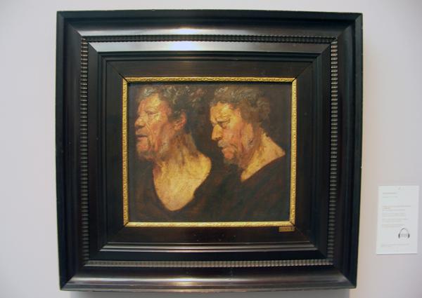 Jacob Jordaens - Studies van de kop van Abraham Grapheus
