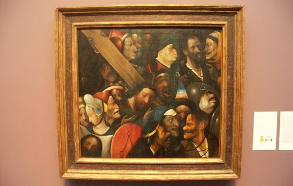 Jeroen Bosch - Christus draagt het kruis