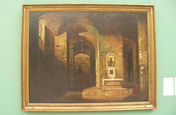 Josse Sebastien van den Abeele - De crypte van de baseliek San Martino ai Monti in Rome