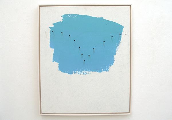 Lieven Hendriks - Blue Yonder - Acryl op linnen