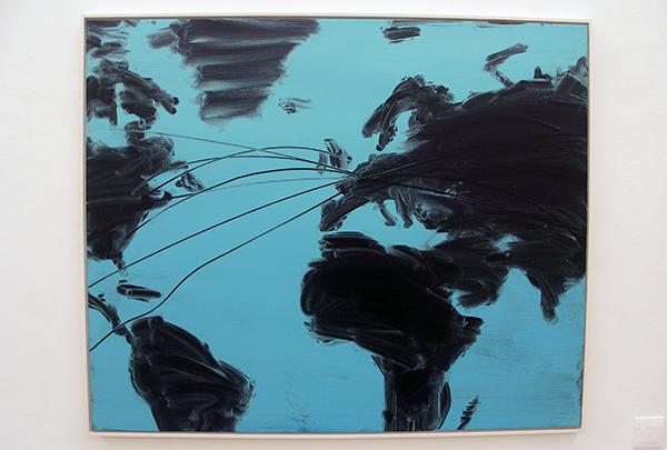 Lieven Hendriks - Map - Acryl op linnen