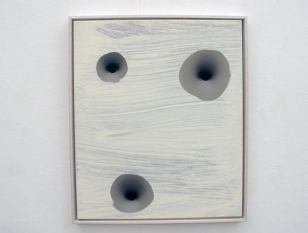 Lieven Hendriks - White Starlet - Acryl op linnen