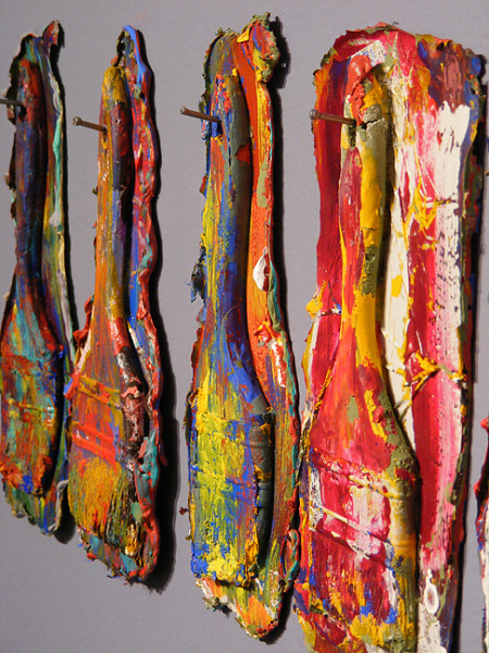 'Paint' brushes - Diverse afmetingen Acrylverf
