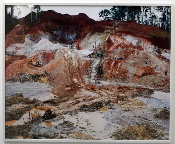 Bas Princen - Rosebel Placer Mine - 153x187cm C-print