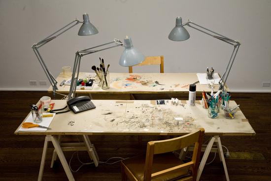 Tischmatte, Palais de Boreli-Marseille - Tafel met alles er op en er aan